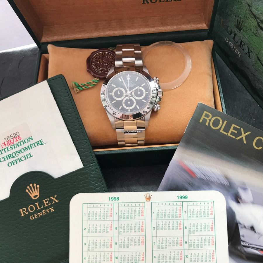 Rolex Daytona 16520 NOS Full Set - this full set leaves nothing to be desired