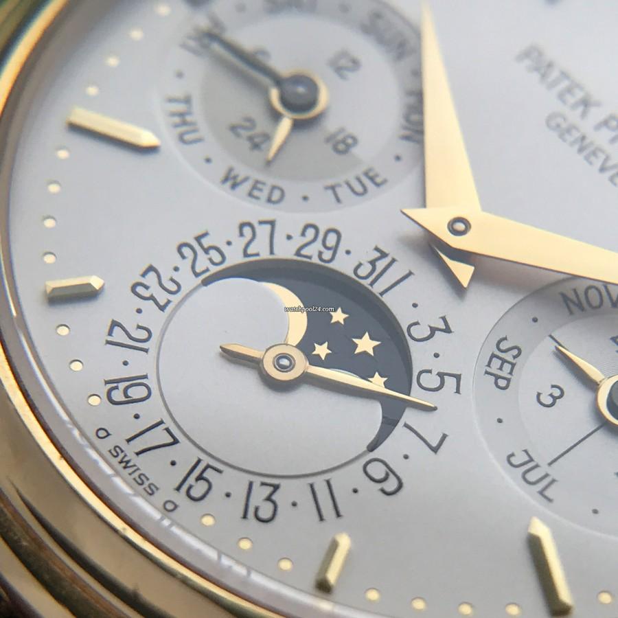 Patek Philippe Grand Complications 3940 Full Set - Mondphase und Datumsanzeige
