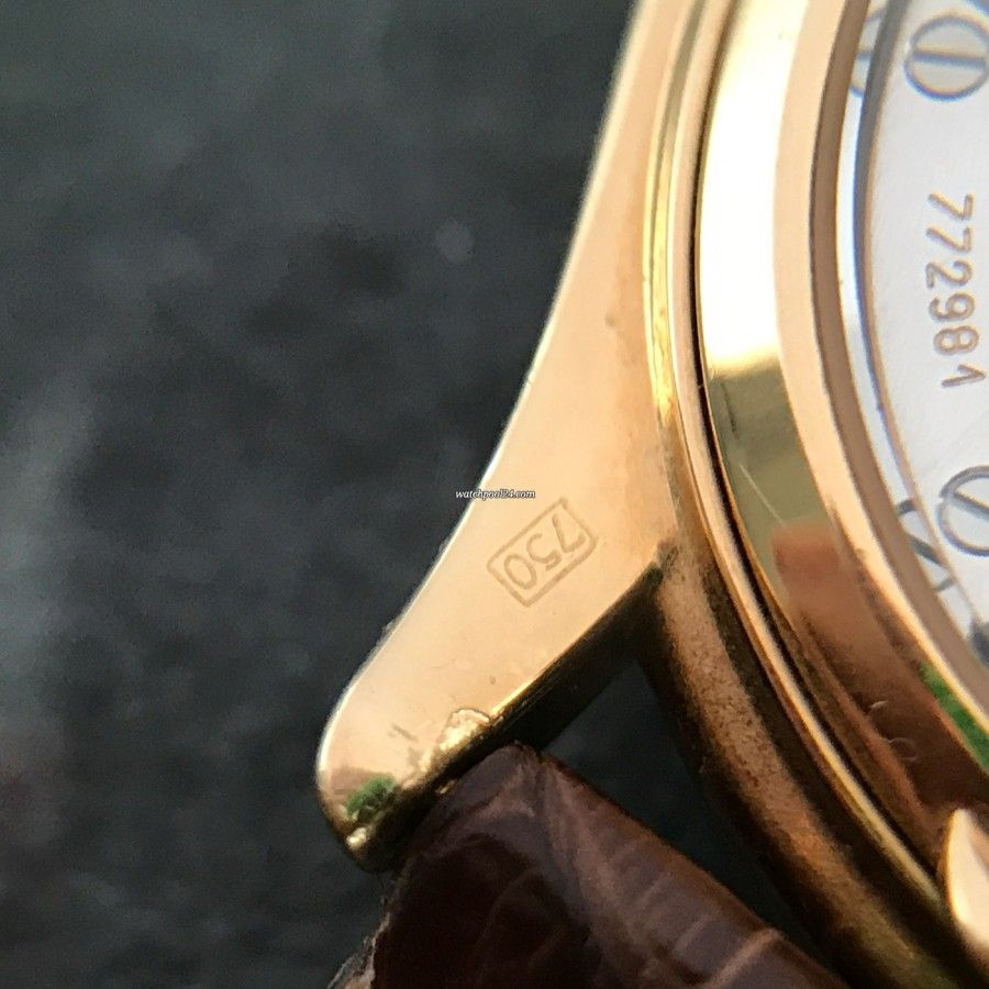 Patek Philippe Grand Complications 3940 Full Set - 750 Gelbgold Punzen auf der Rückseite des Steges