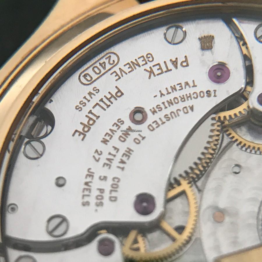 Patek Philippe Grand Complications 3940 Full Set - Gravierungen auf dem Uhrwerk