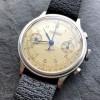 Eberhard Monopusher Chronograph Big Size - eine Vintage Uhr aus den 1940-er Jahren