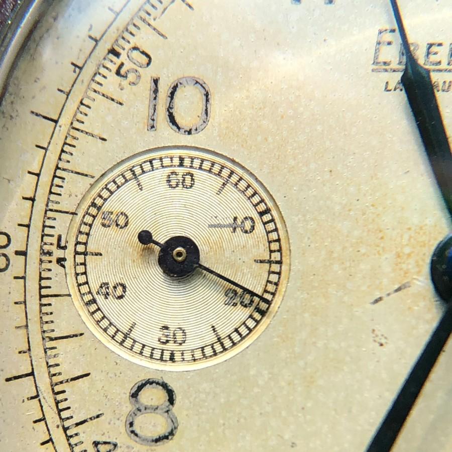 Eberhard Monopusher Chronograph Big Size - Hilfszifferblatt mit kleiner Sekunde