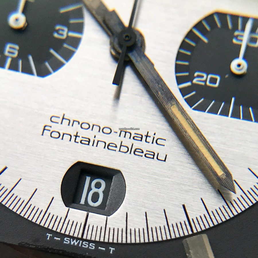 Hamilton Chrono-Matic Fontainebleau 11001-3 - date window