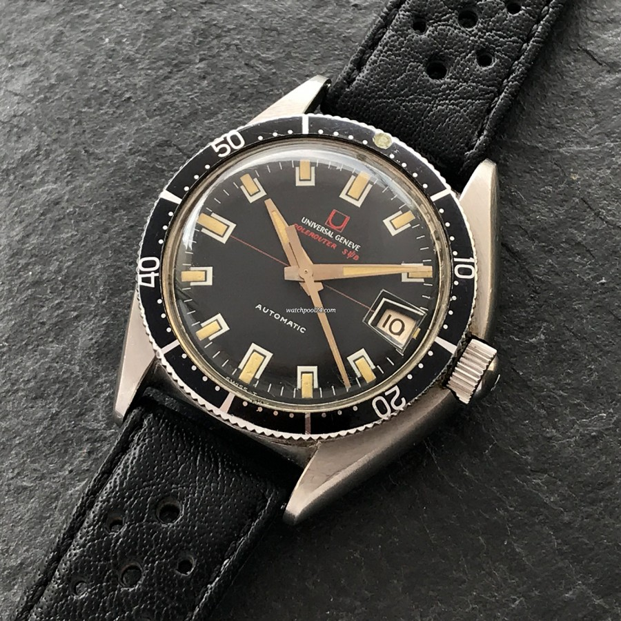 Universal Genève Polerouter Sub 869116/02 - cool diver's watch