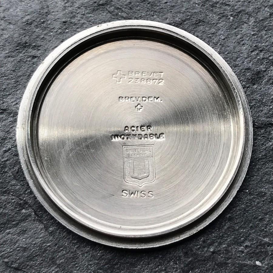 Universal Genève Polerouter Sub 869116/02 - signierter Gehäusedeckel