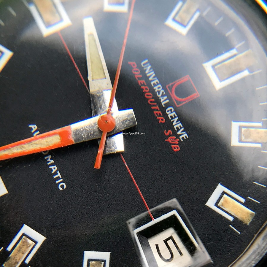 Universal Genève Polerouter Sub 869120 - ❤ Love is in the details: trident in the 'Polerouter Sub'  ❤