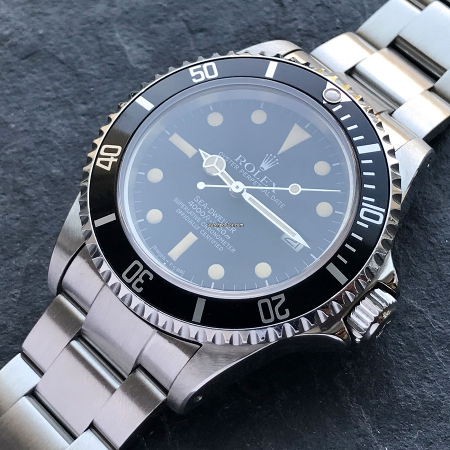 Rolex Sea-Dweller 16660 Full Set - legendäre Taucheruhr von Rolex