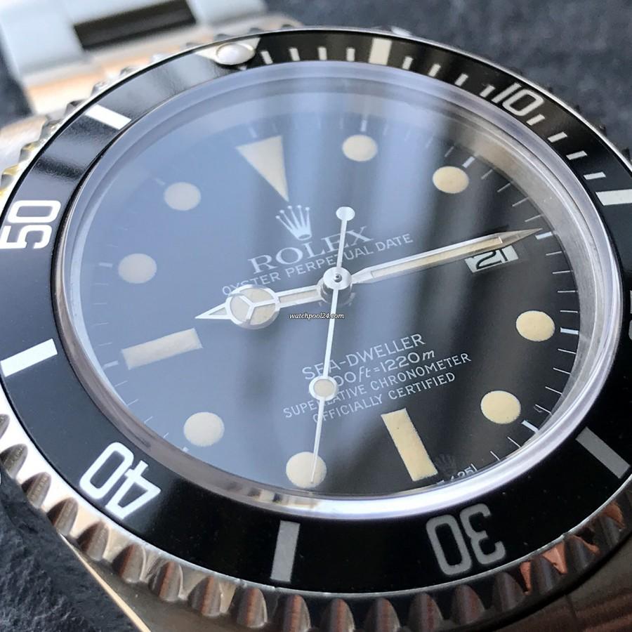 Rolex Sea-Dweller 16660 Full Set - drehbare Lünette