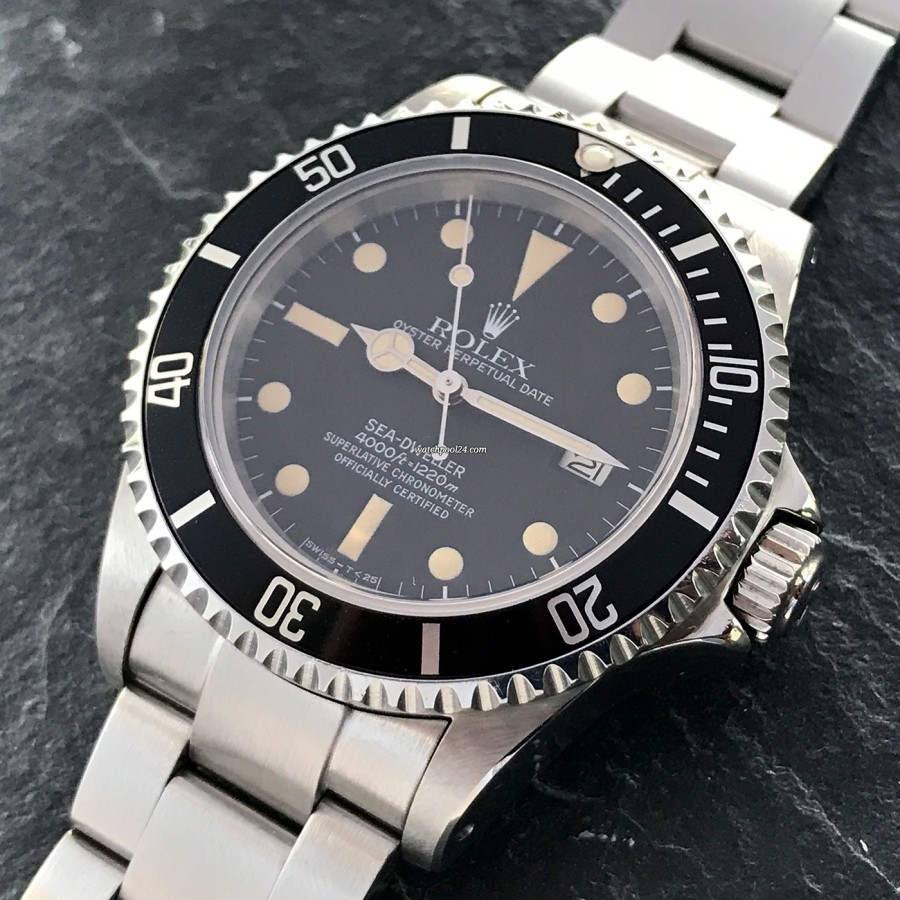 Rolex Sea-Dweller 16660 Full Set - oyster case in great condition
