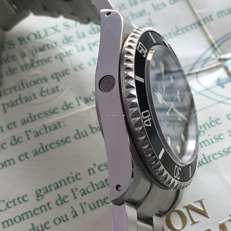 Rolex Sea-Dweller 16660 Full Set - das Heliumventil