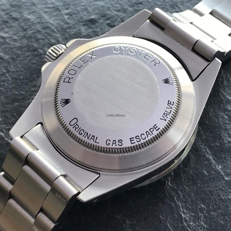 Rolex Sea-Dweller 16660 Full Set - gravierter Gehäuseboden