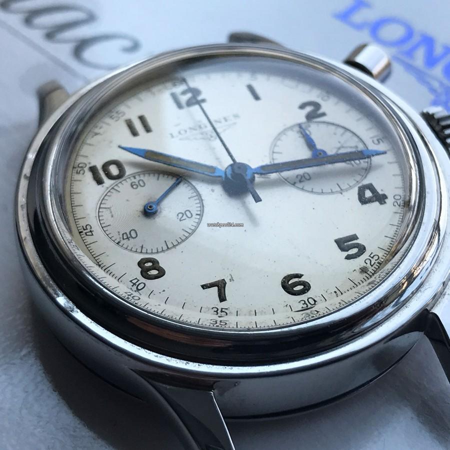 Longines Chronograph 6474 Flyback - stepped bezel