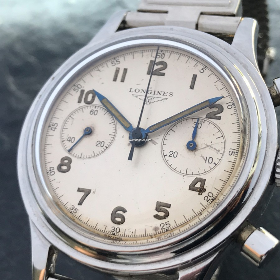 Longines Chronograph 6474 Flyback - balanced dial