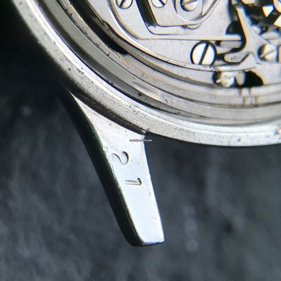 Longines Chronograph 6474 Flyback - the number '21' matching the number in the case (next picture)