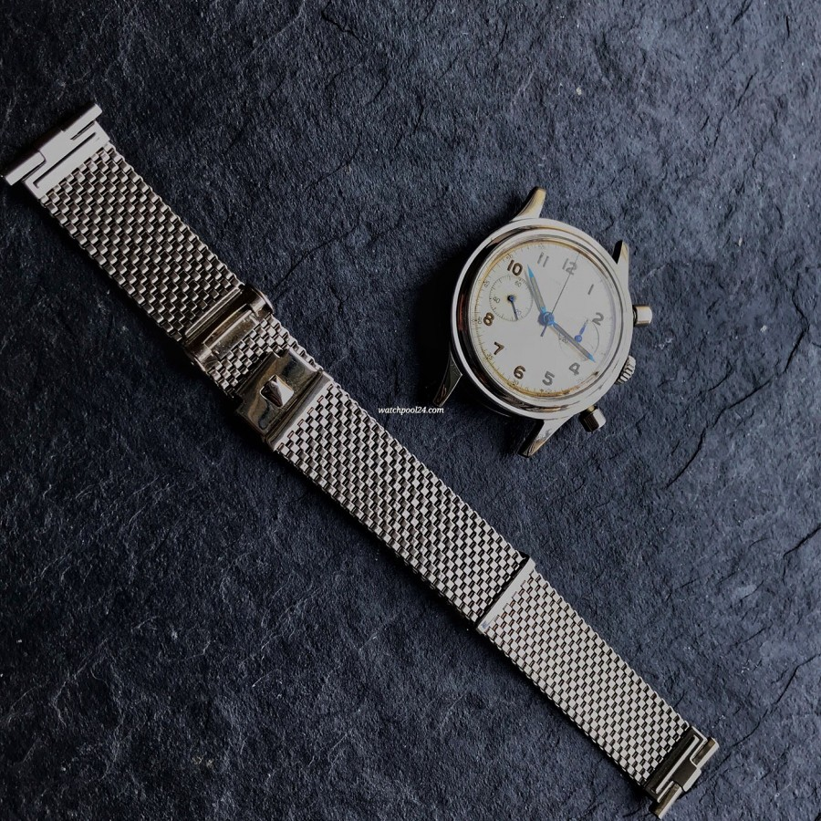 Longines Chronograph 6474 Flyback - watch and bracelet