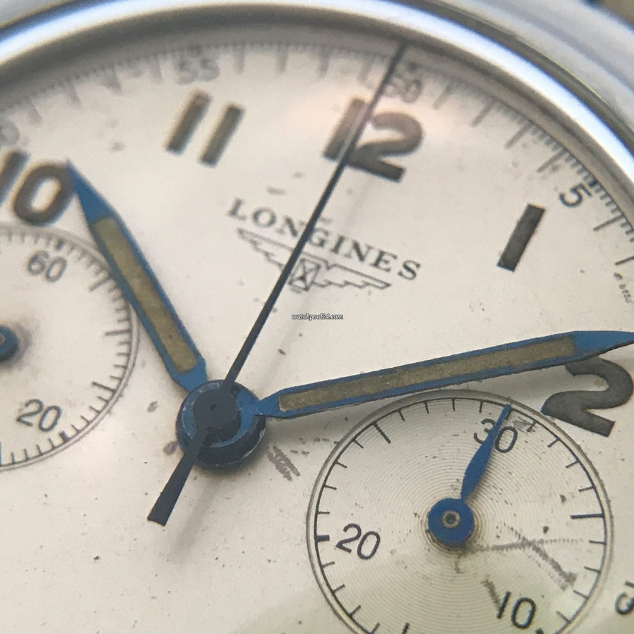 Longines Chronograph 6474 Flyback - metallic-blue hands