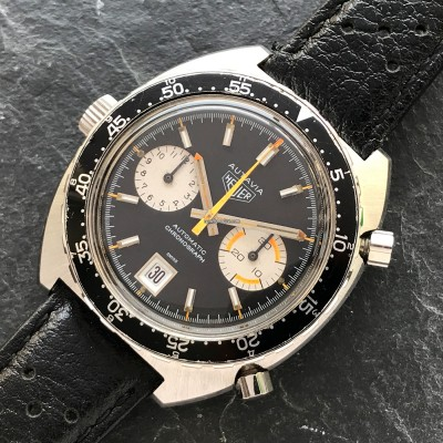 Heuer Autavia 1163 Orange Boy