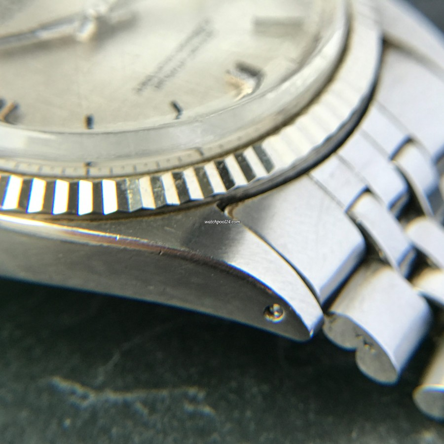 Rolex Datejust 1601 Linen No Lume Punched Papers