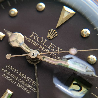Rolex GMT Master 1675/3 Nipple Dial