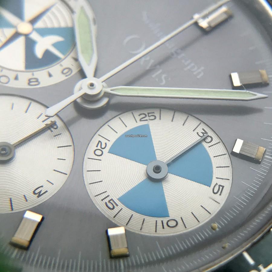 Heuer Orvis Solunagraph 2446SF - 30-Minuten-Zähler des Chronographen