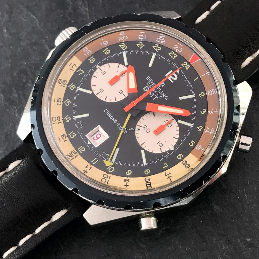 Breitling Chronomatic 2115 GMT - Box and Papers - a cool pilot's watch