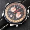 Breitling Chronomatic 2115 GMT - Box und Papiere - eine coole Pilotenuhr