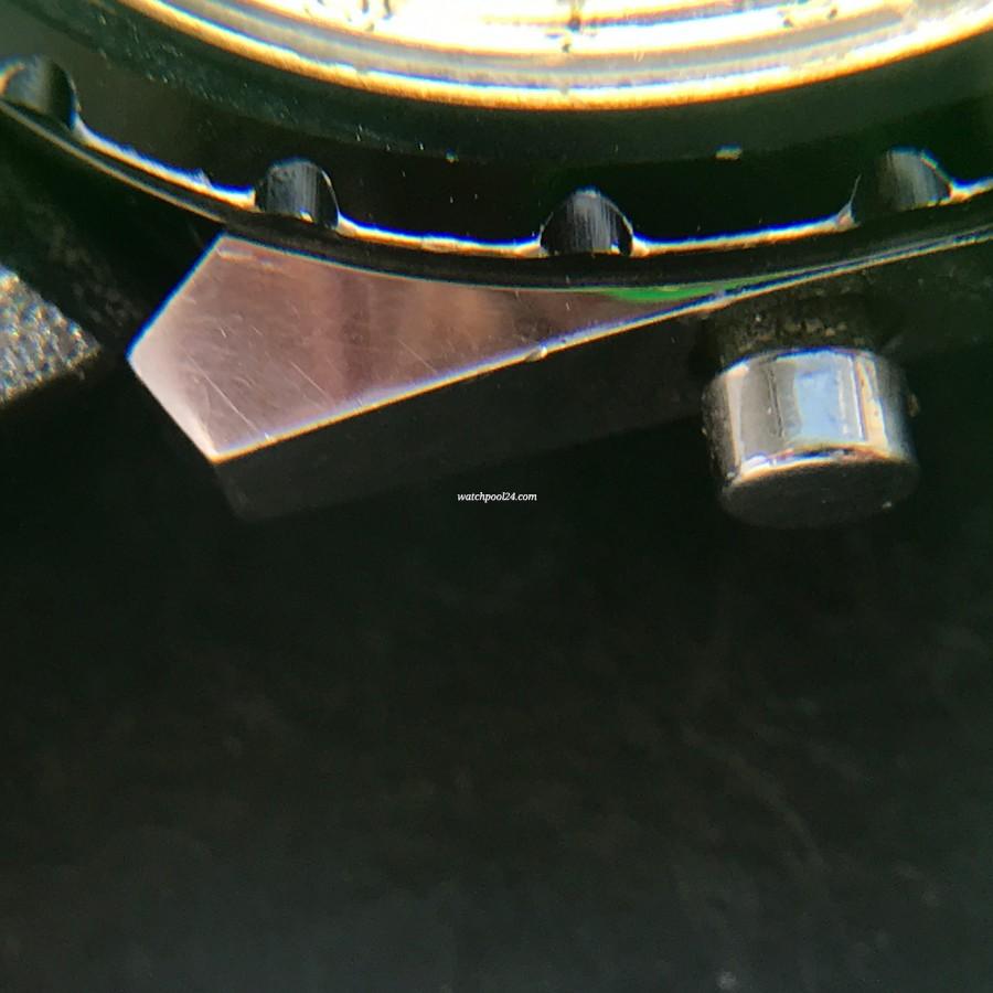 Breitling Chronomatic 2115 GMT - Box und Papiere - scharfe Gehäusekante