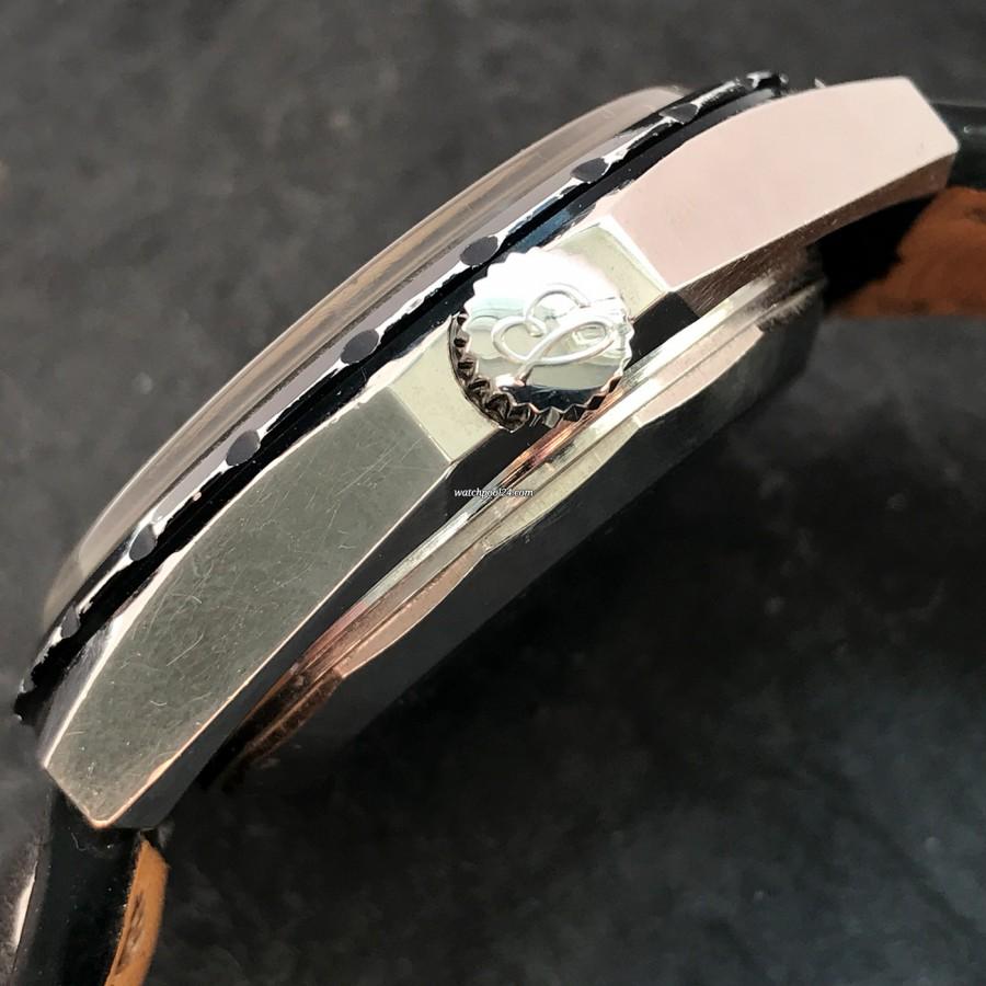 Breitling Chronomatic 2115 GMT - Box und Papiere - signierte Krone
