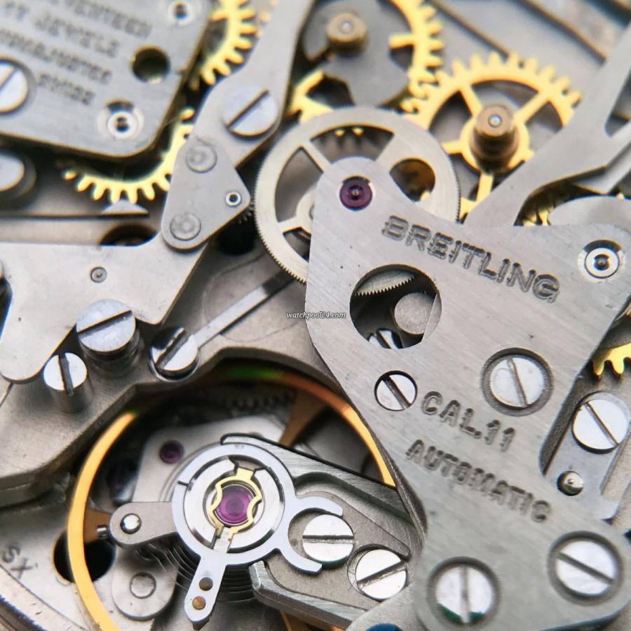 Breitling Chronomatic 2115 GMT - Box und Papiere - Uhrwerk Kaliber 11