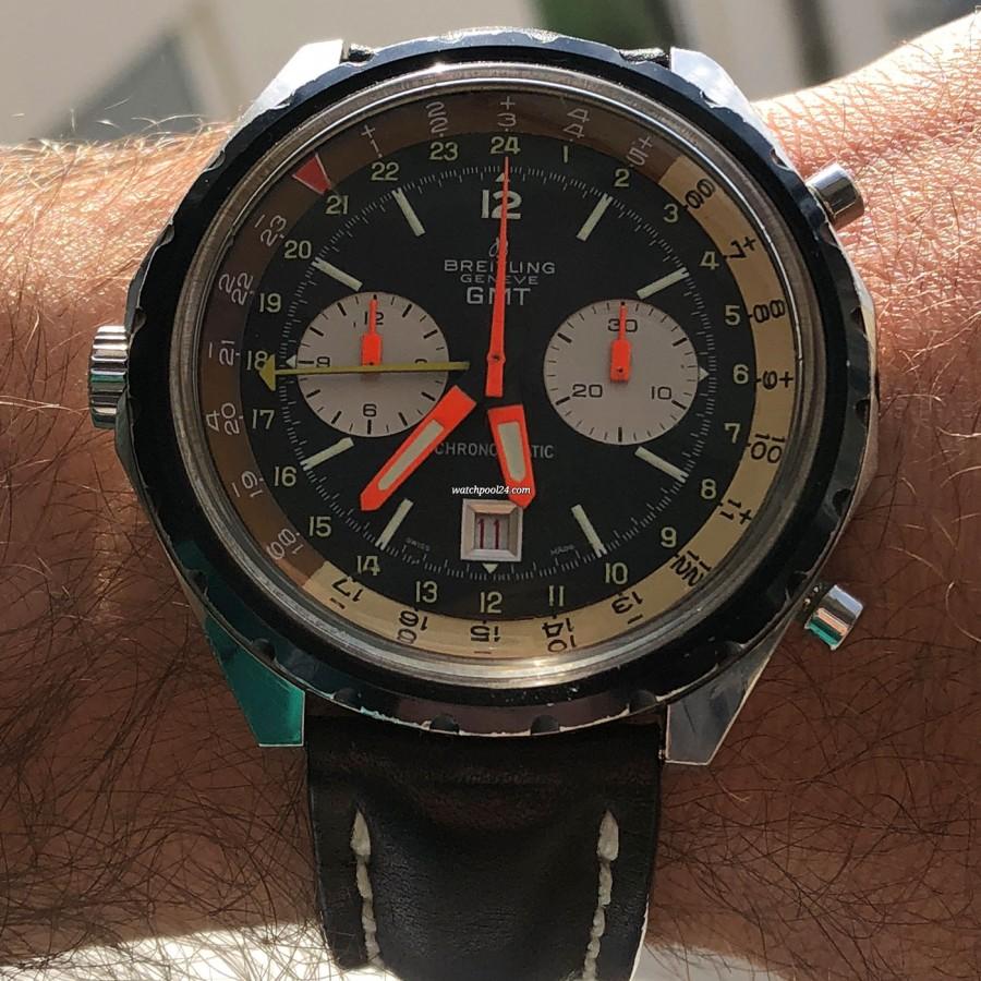 Breitling Chronomatic 2115 GMT - Box und Papiere - cool und sportlich auf dem Handgelenk