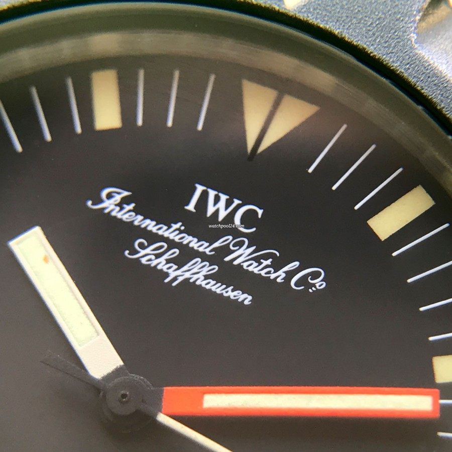 IWC Ocean Bund 3529 Box and Papers - white inscription at 12 o'clock