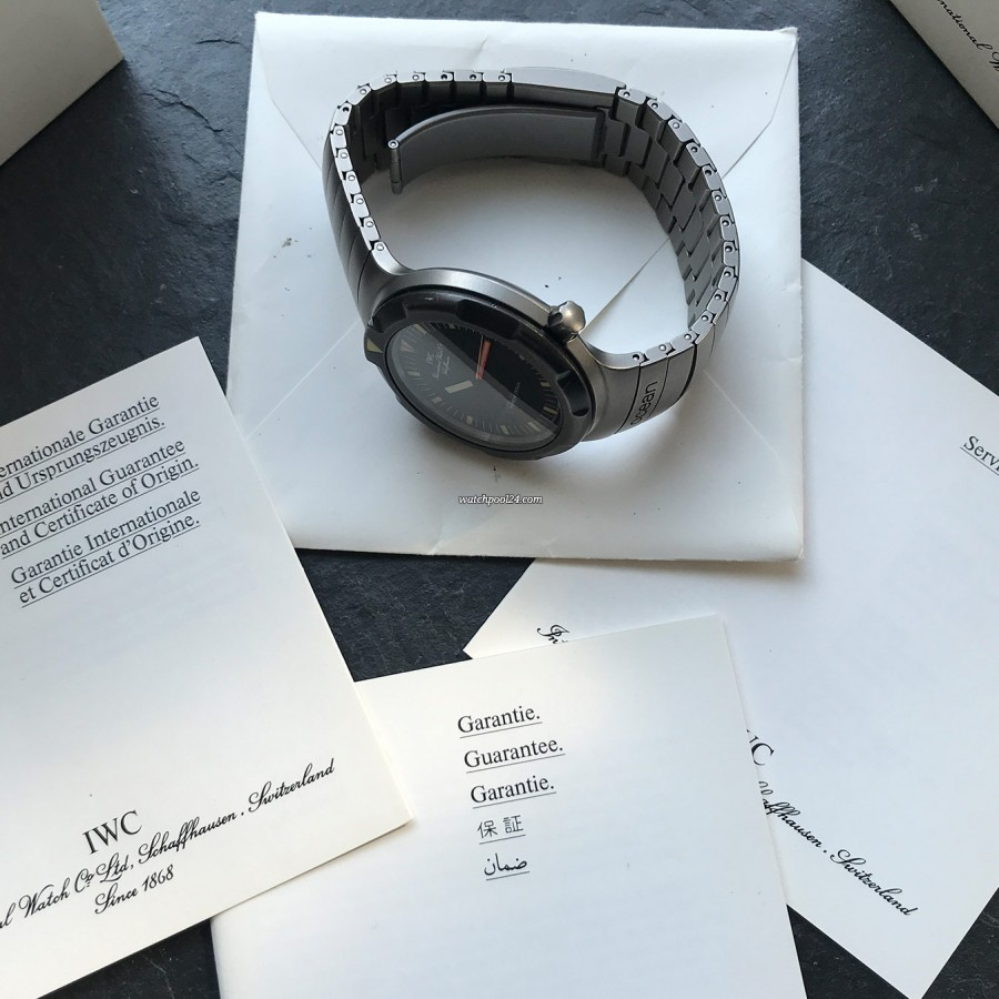 IWC Ocean Bund 3529 Box and Papers - original accessories, box, papers