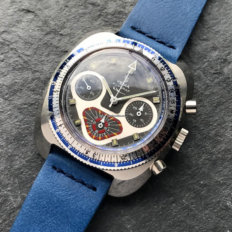 Yema Flygraf Chronograph - ein auffallendes Design und zuverlässige Technik