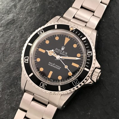 Rolex Submariner 5513 Stunning Patina