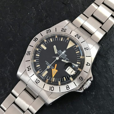 Rolex Explorer II 1655 Orange Hand Freccione