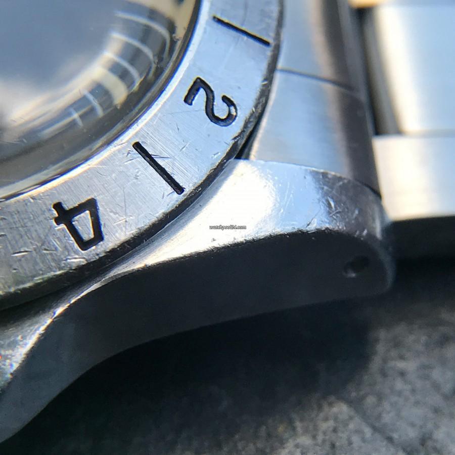 Rolex Explorer II 1655 Orange Hand Freccione - thick unpolished case lugs