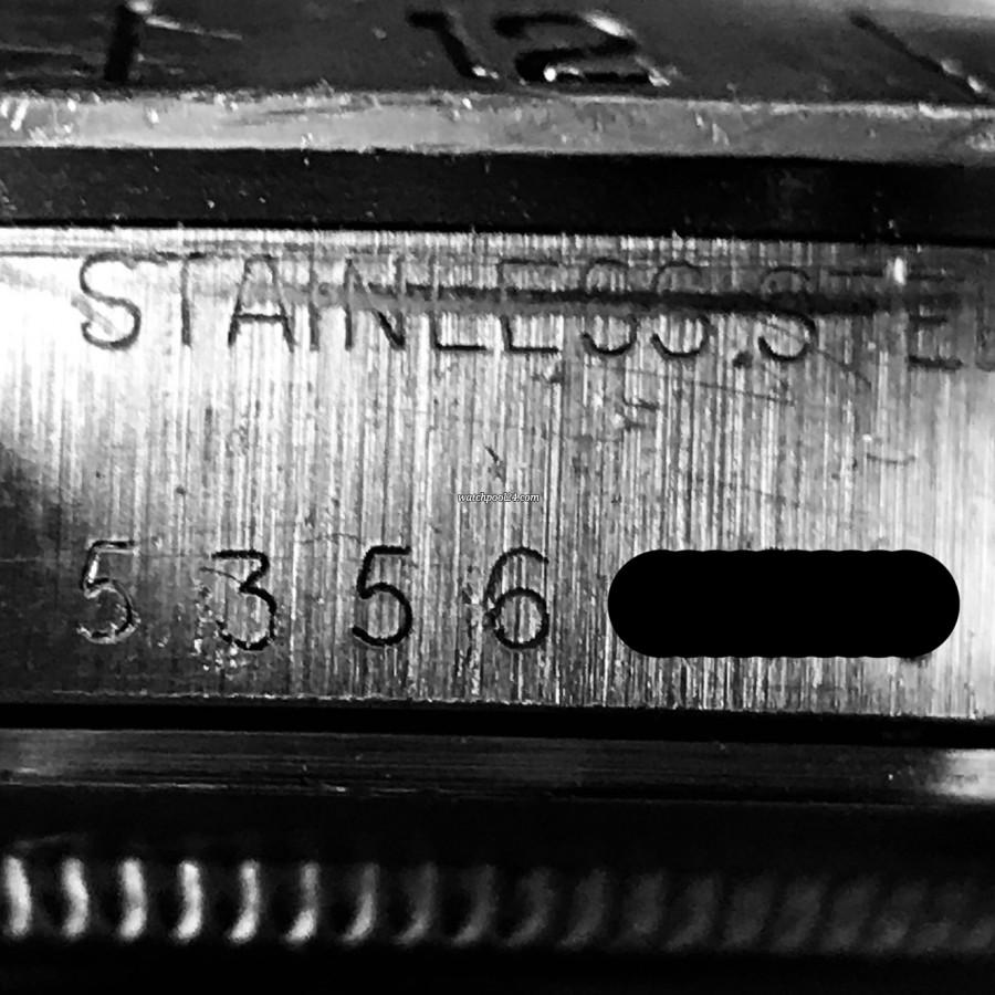 Rolex Explorer II 1655 Orange Hand Freccione - serial number 5.356.xxx