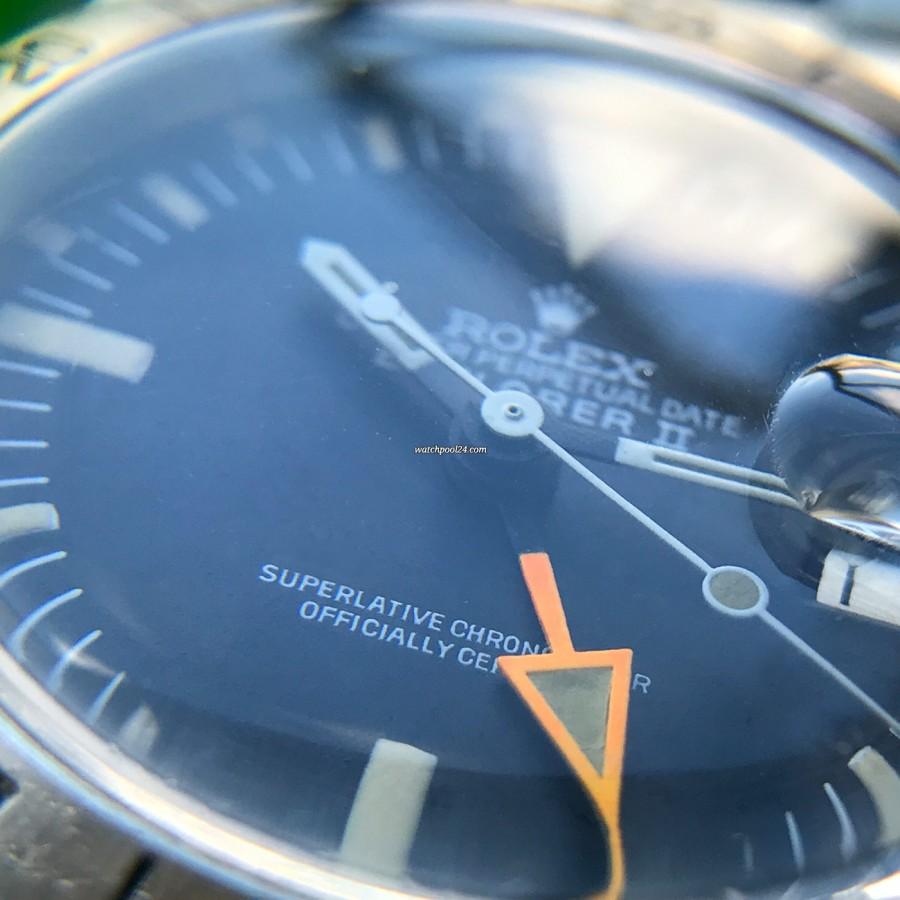 Rolex Explorer II 1655 Orange Hand Freccione - an iconic and spectacular timepiece