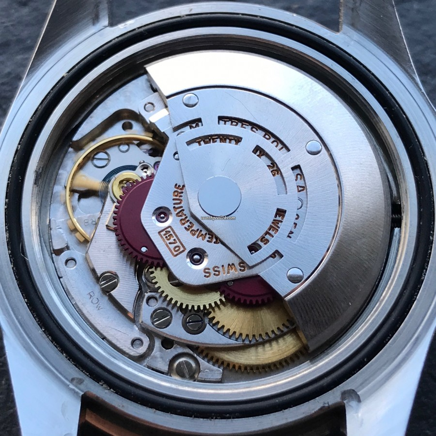 Rolex GMT Master 1675 Pink Lady Papers - Uhrwerk Rolex Kaliber 1570