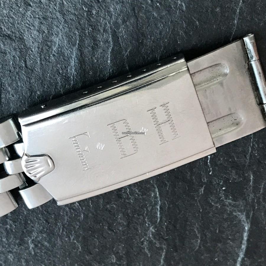 Rolex GMT Master 1675 Pink Lady Papers - originales Rolex Jubilee Armband und Schließe, hergestellt in den USA