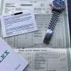 Rolex GMT Master 1675 Pink Lady Papers - Gangschein mit gelochter Seriennummer, Garantiebuch, Booklet