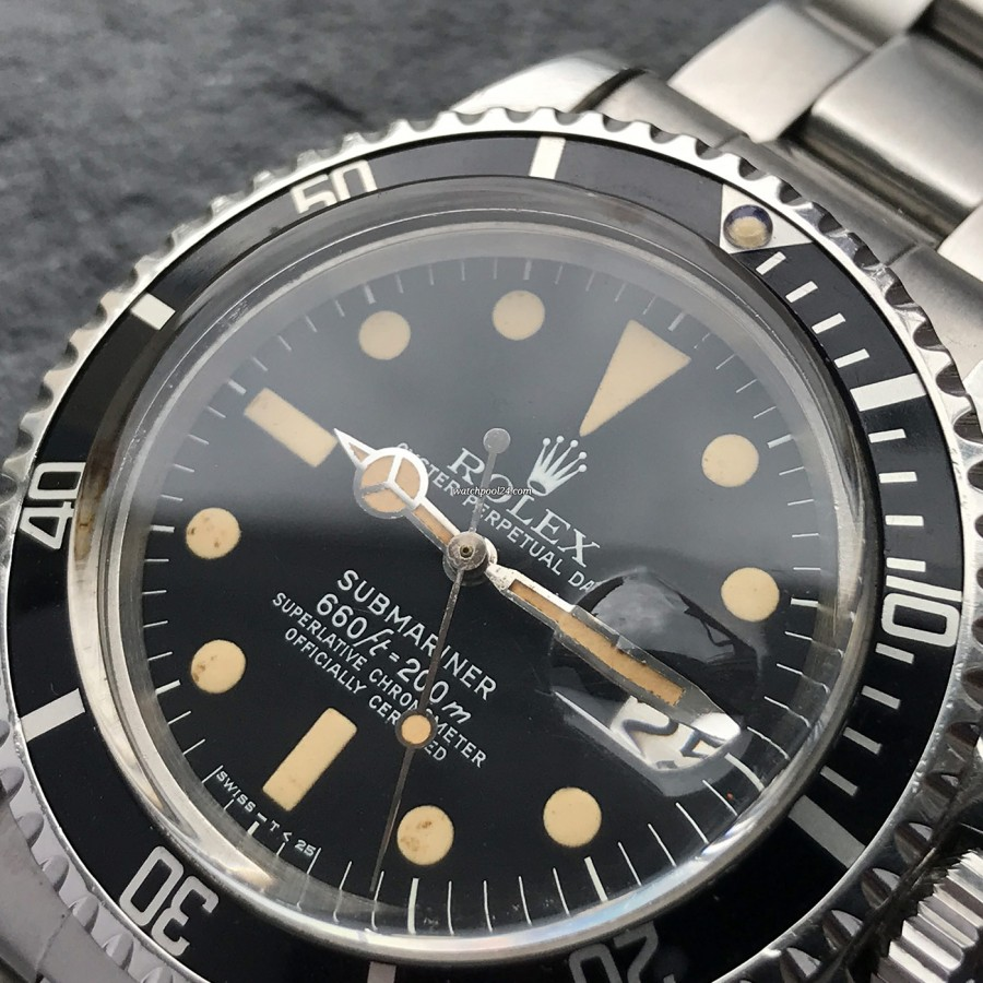 Rolex Submariner 1680 - black dial with white lettering
