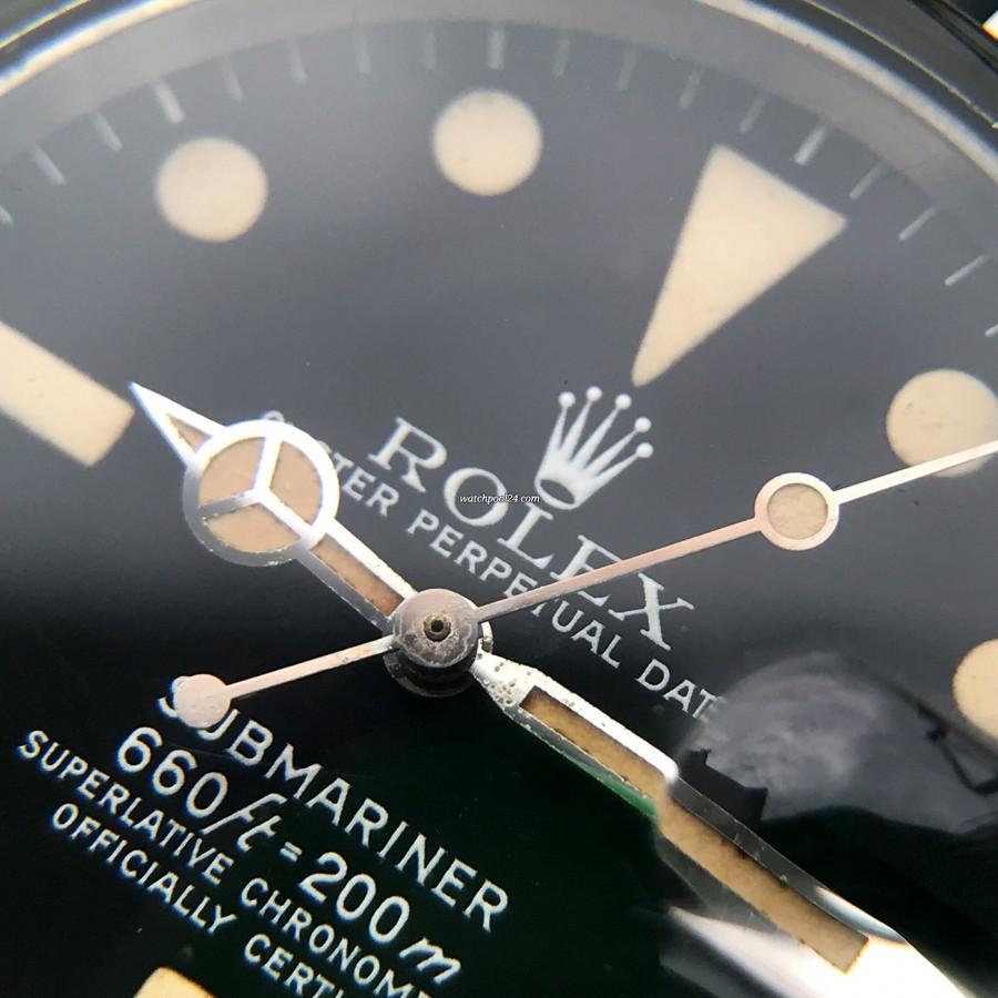 Rolex Submariner 1680 - hands show beautiful original lume