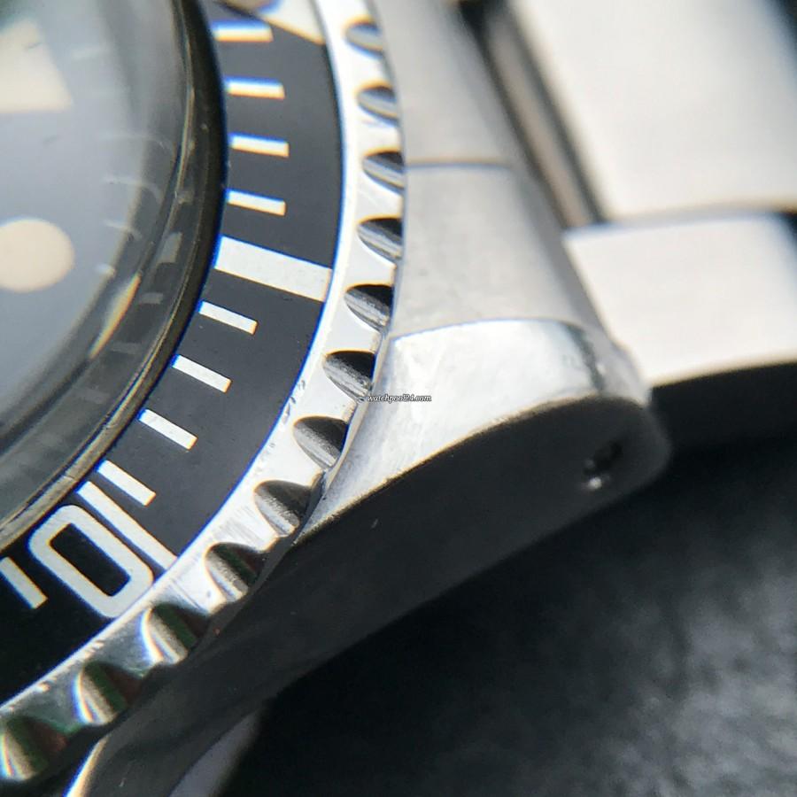 Rolex Submariner 1680 - sharp bezel, authentic case