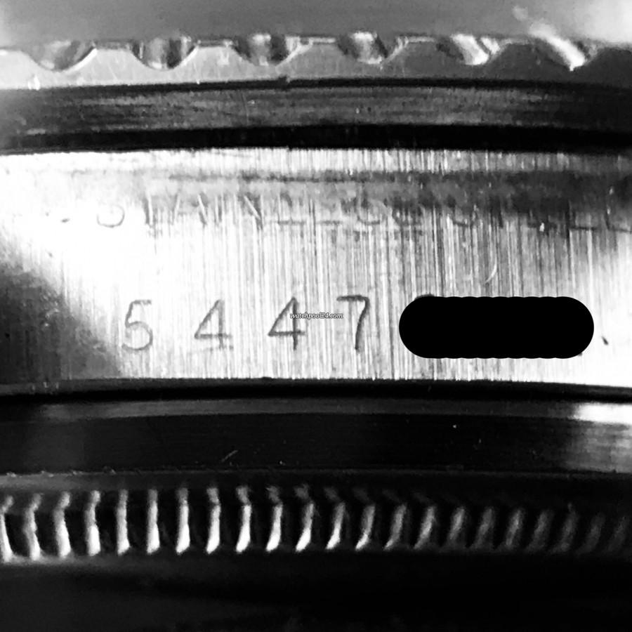 Rolex Submariner 1680 - serial number 5.447.xxx