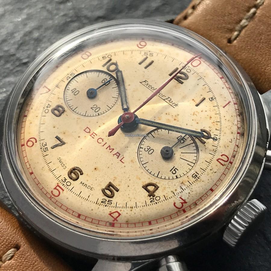 Excelsior Park Decimal Chronograph - natürliche Patina - verblüffendes Zifferblatt