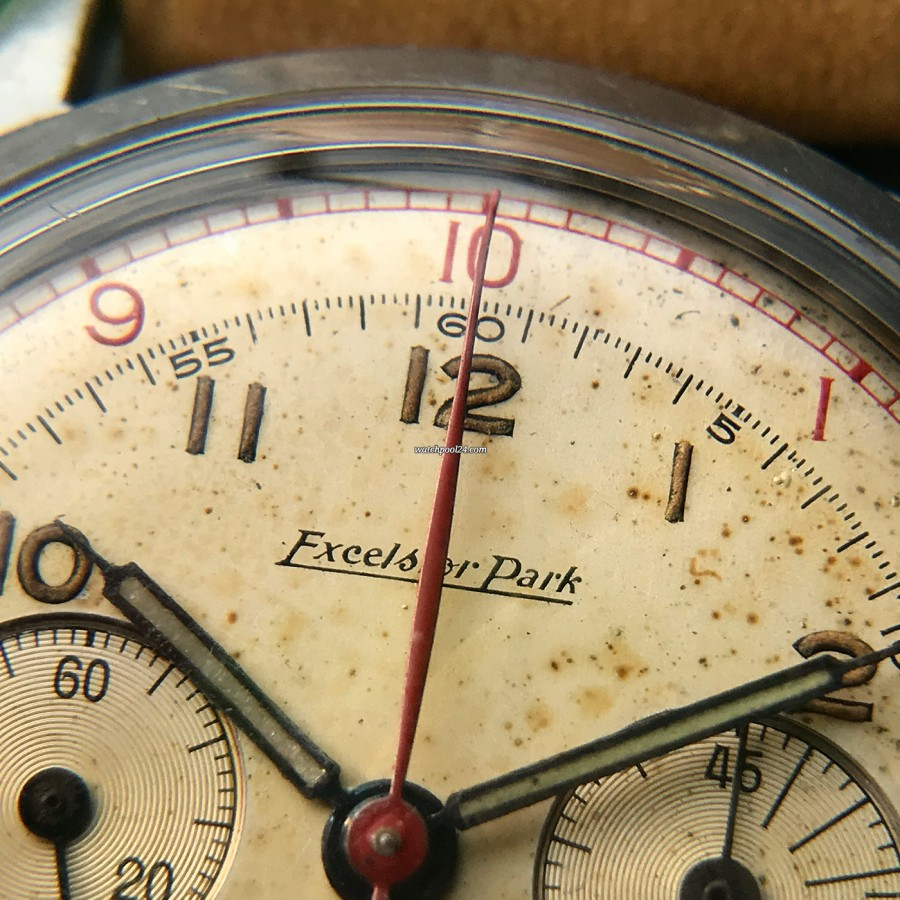 Excelsior Park Decimal Chronograph - roter Chrono-Sekunden-Zeiger