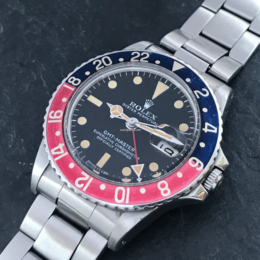 Rolex GMT Master 1675 Pepsi Bezel - a vintage watch, that really pops