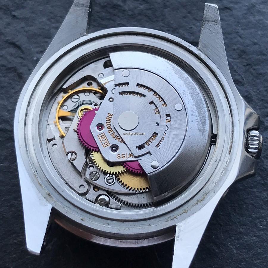Vintage Rolex GMT Master 1675 Pepsi Bezel sold on watchPool24