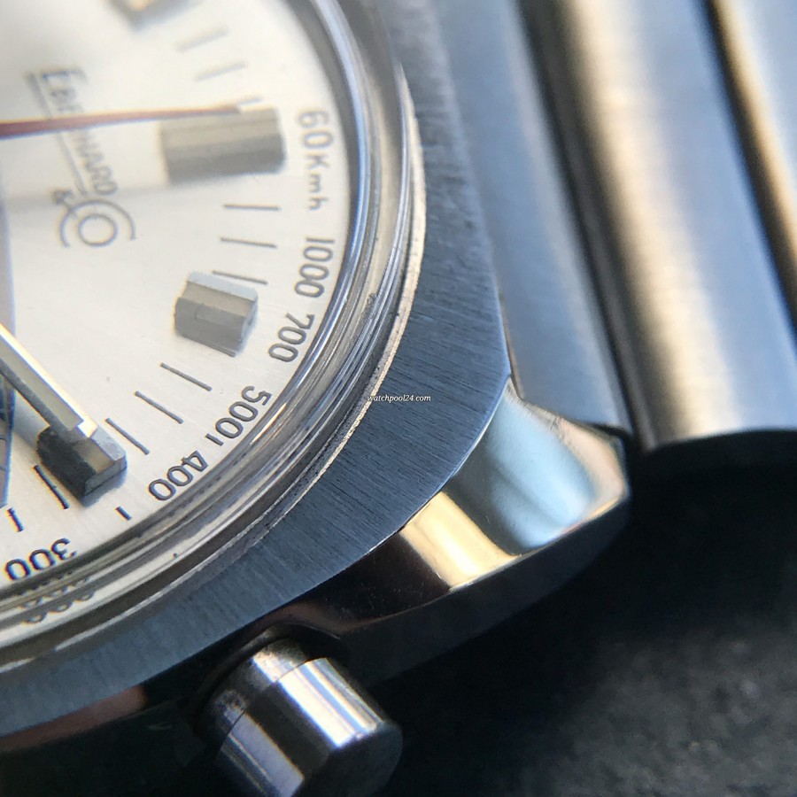 Eberhard Extra-Fort 31006 Hang Tag - original brushed finish on the case